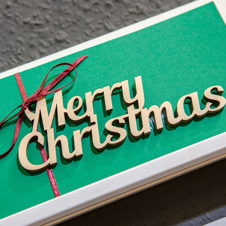Stationery and Gift Articles - Gift card with Christmas greetings